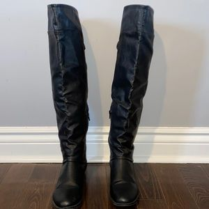 Call it spring long black boots
